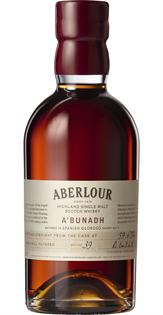 Aberlour Single Malt Scotch A'Bunadh 119.8@ 750ml